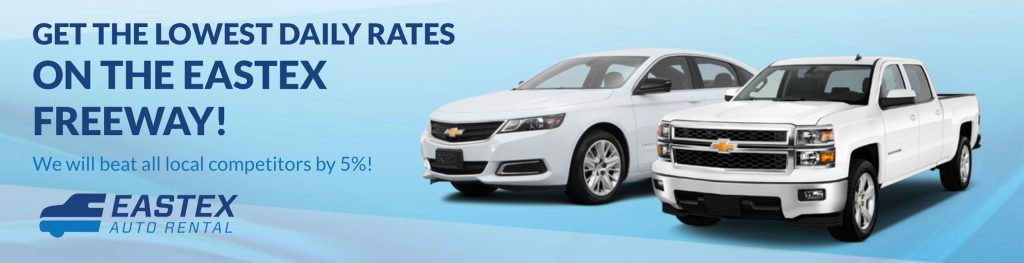 Eastex Auto Rental Banner in Beaumont, TX